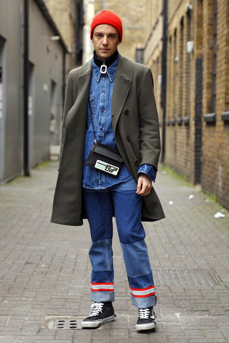 Lo más extravagante del Street Style masculino de Londres