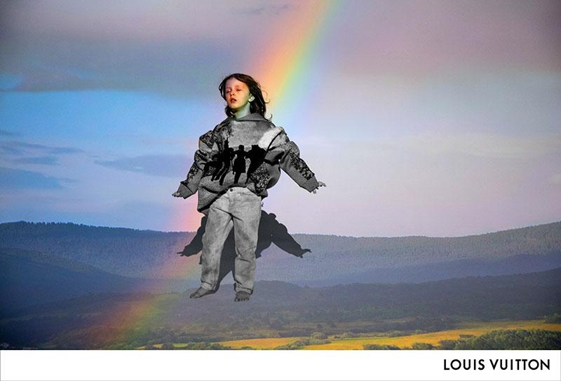 Primera campaña de Virgil Abloh para Louis Vuitton Hombre