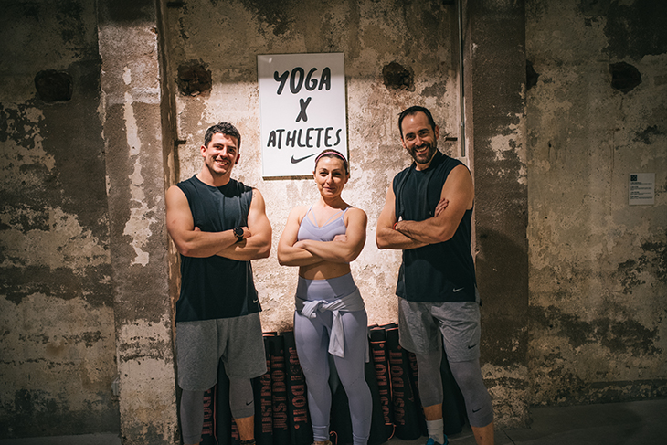 Yoga X Athletes de Nike Trainning