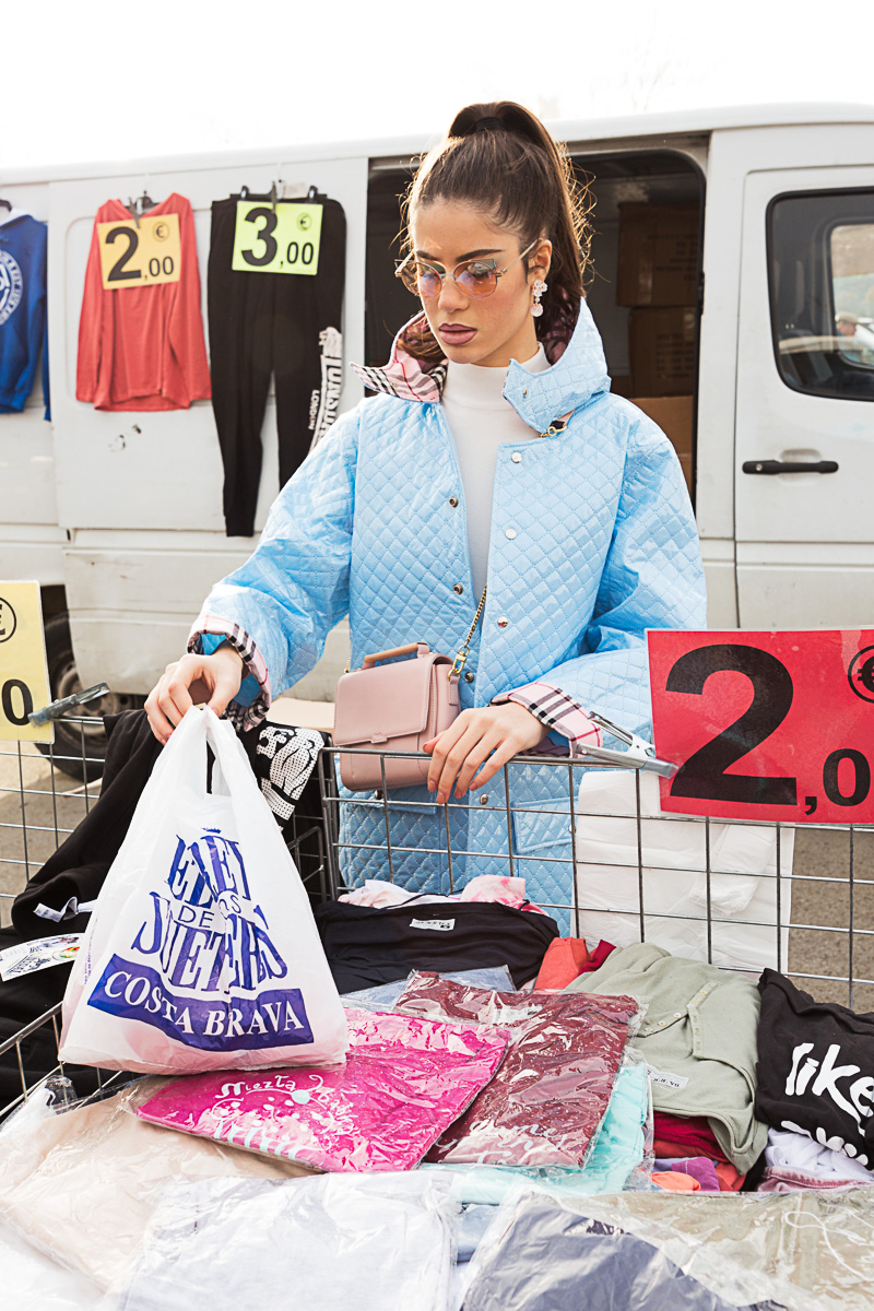Street style: Moda en mercadillos
