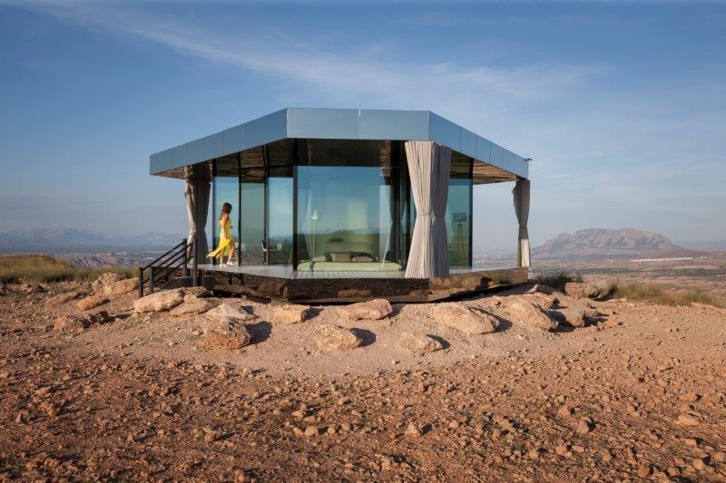 Una noche en La casa del desierto