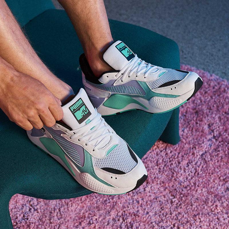 Discreto Farmacología Consciente de  Puma x MTV reinventan las zapatillas más iconicas de los 80