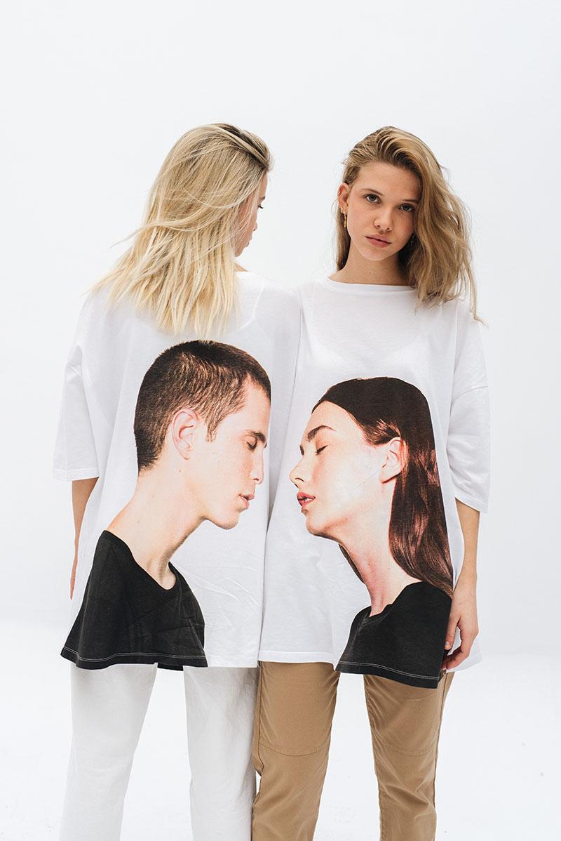 Las Camisetas que se besan por San Valentín