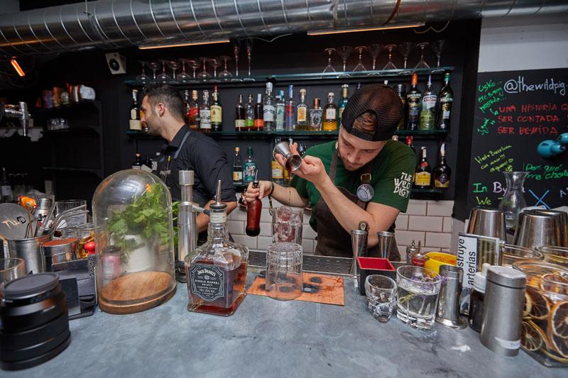 Coctelerías sin etiquetas en Madrid y Barcelona