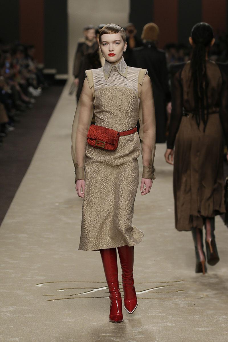 La última colección de Karl Lagerfeld para Fendi