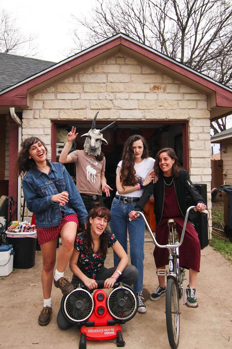 Chicas que conquistan el Festival Cara B: Melenas