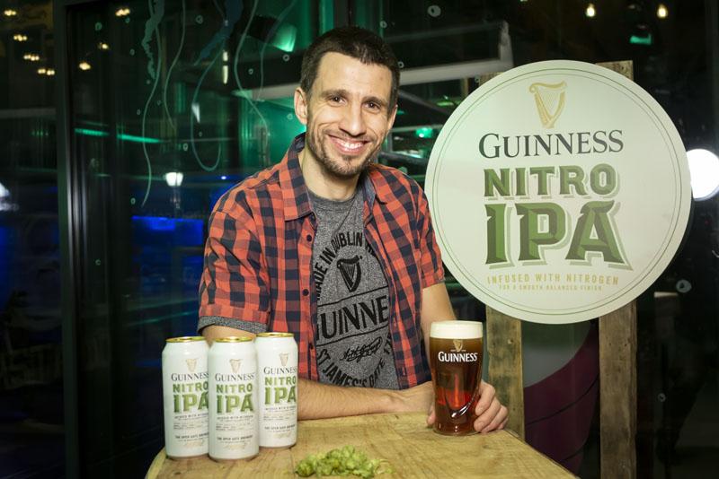 Un madrileño crea una nueva cerveza para Guinness