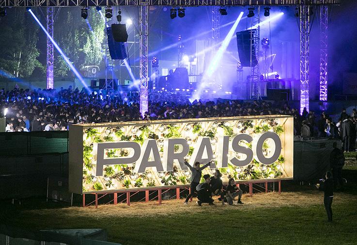 El Festival Paraíso con el arte