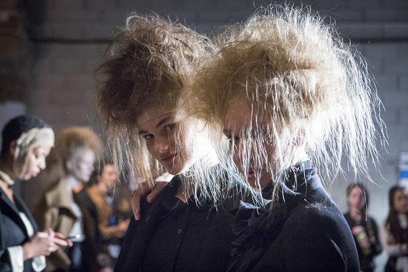 Peinados de artista por Redken en la 080 de Barcelona
