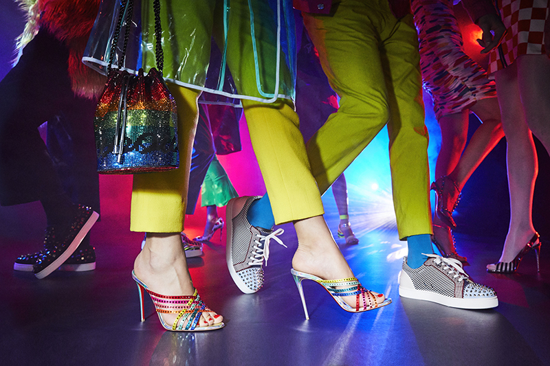 Optical Illusions: Christian Louboutin SS19 Campaign