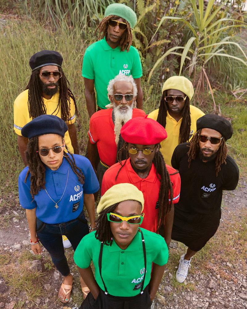 La colección que se inspira en la música jamaicana