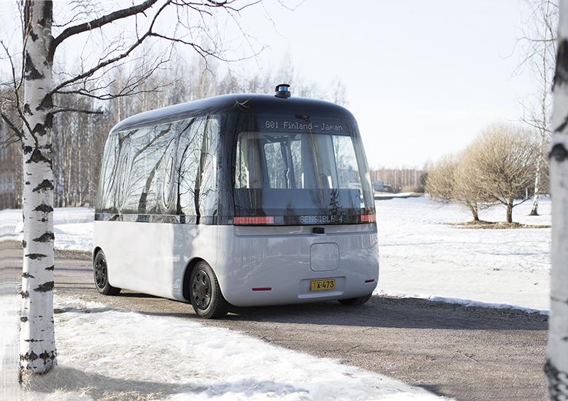 Gacha, el primer autobús autónomo diseñado por Muji
