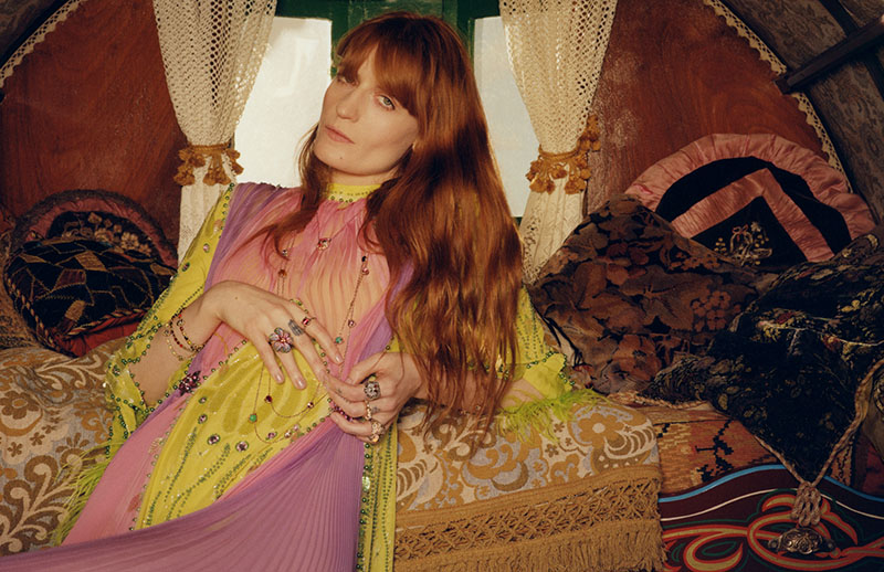 Florence Welch para Gucci