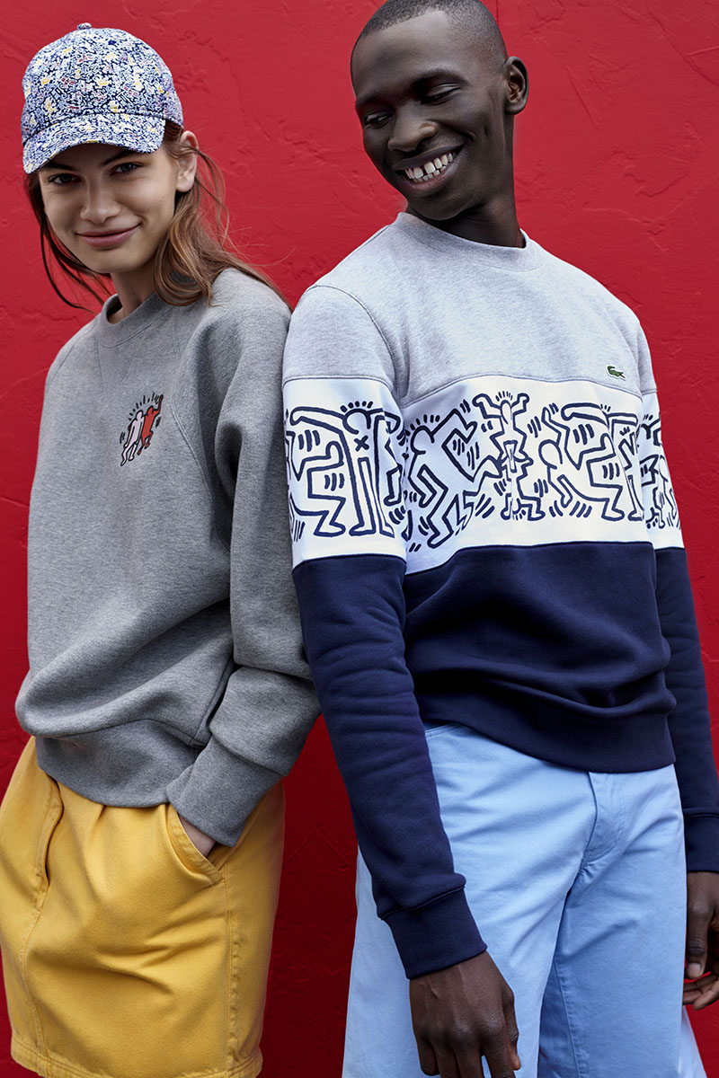Lacoste x Keith Haring: Polo Art Pop