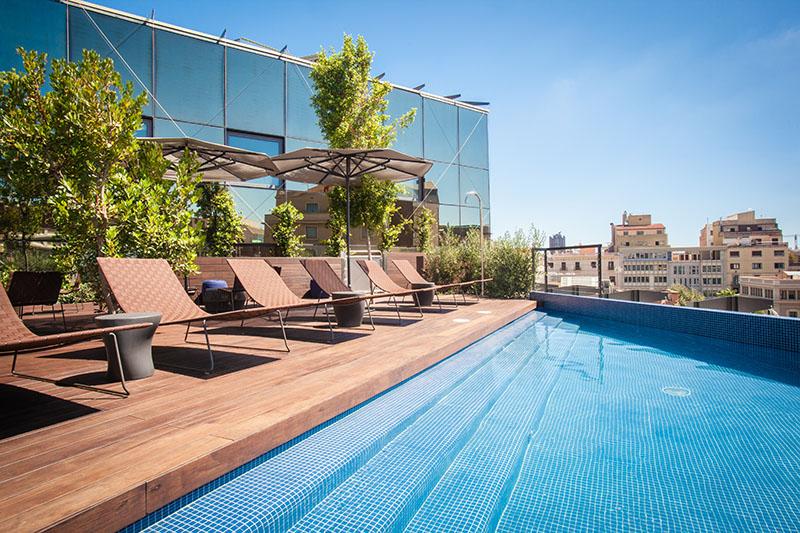 Hotel OD Barcelona, un oasis en el centro de la ciudad