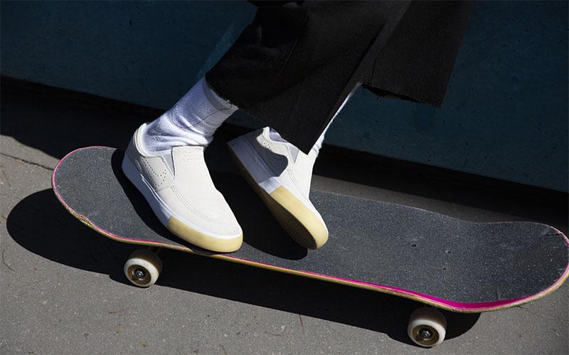 Las zapatillas con alma de skater