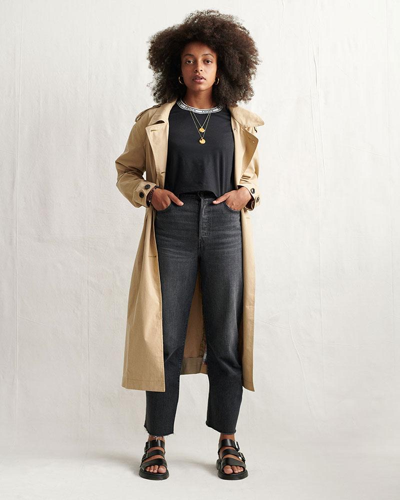 Vocabulario de Moda: Ribcage o pantalones de tiro alto