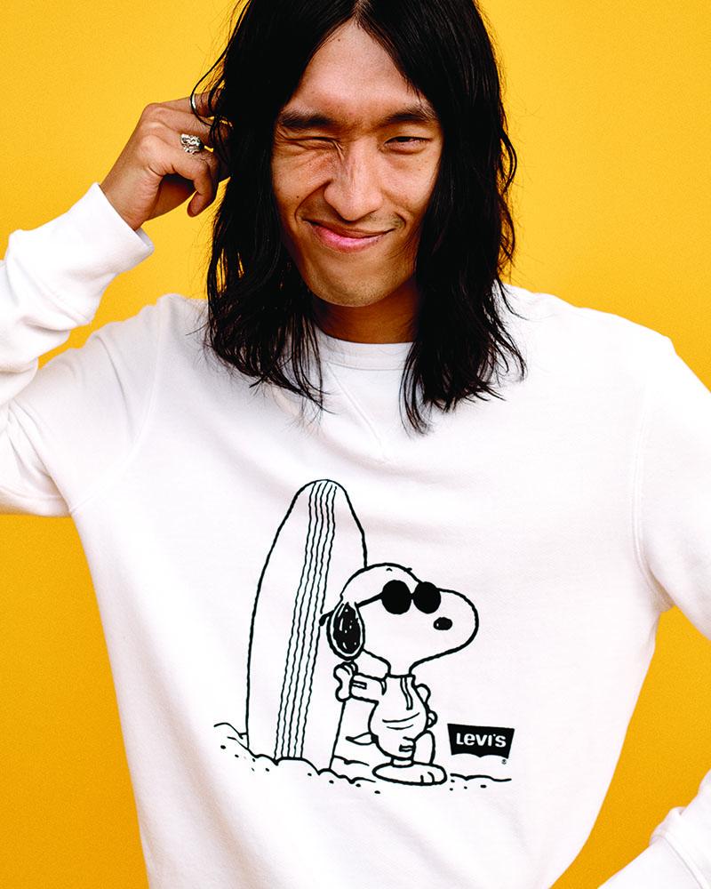 Levi's x Peanuts se unen a la cultura meme