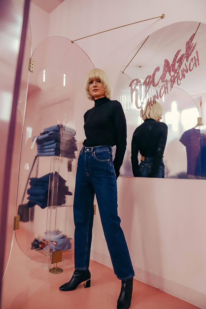 Levi´s presenta los jeans de tiro mas alto