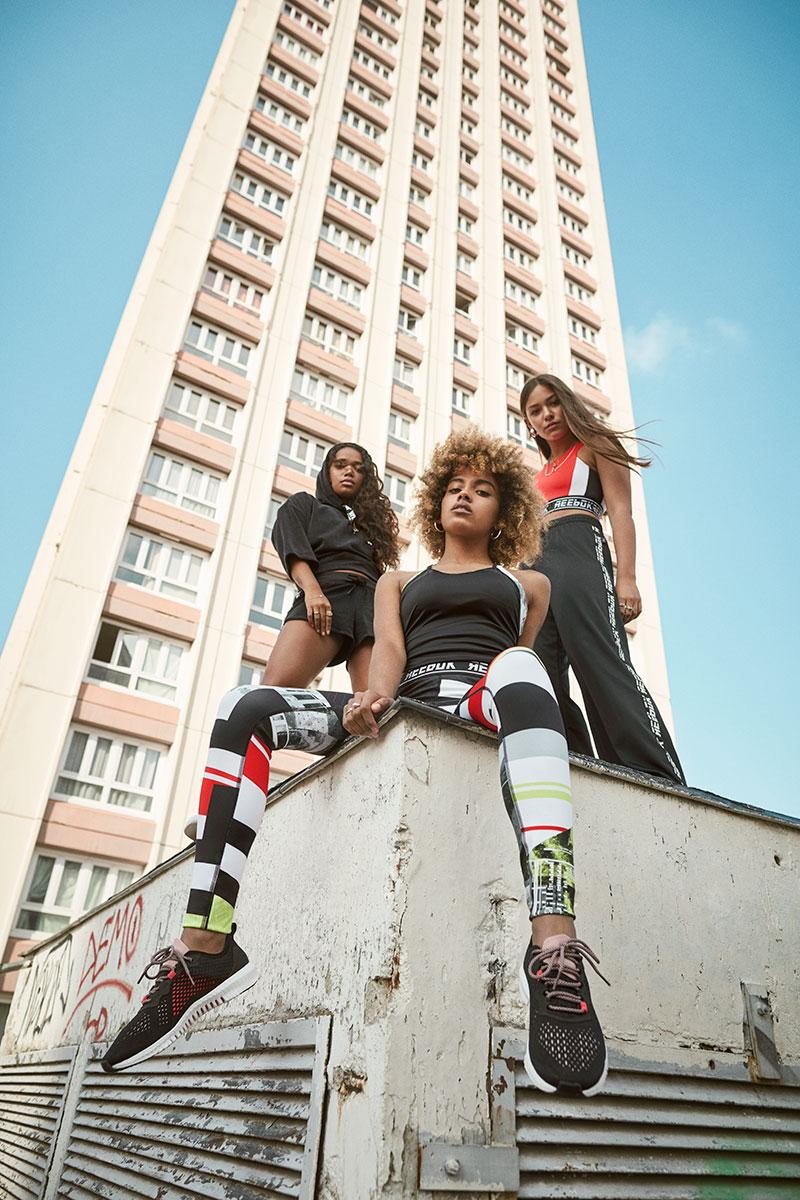 Moda y Fitness en la colección femenina de Reebok SS19