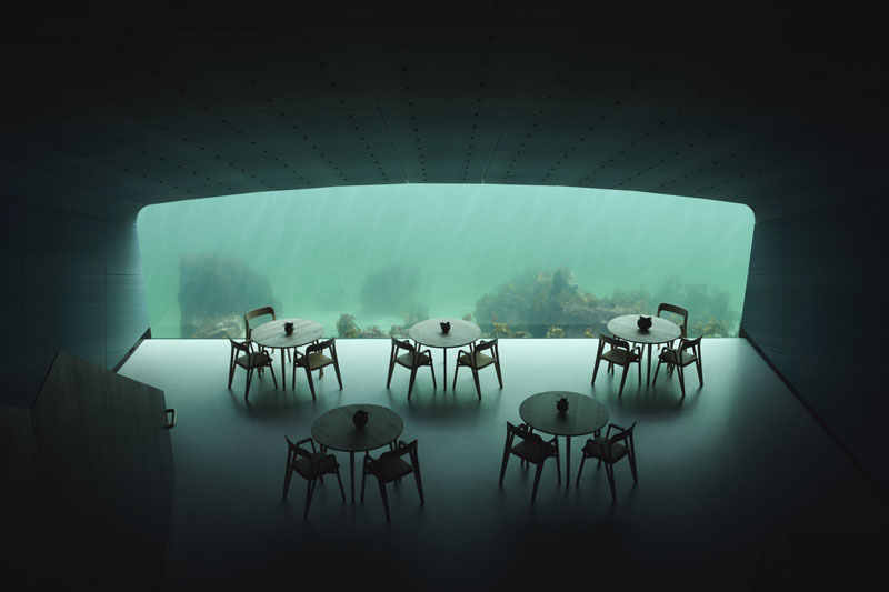 Under: El primer Restaurante submarino de Europa