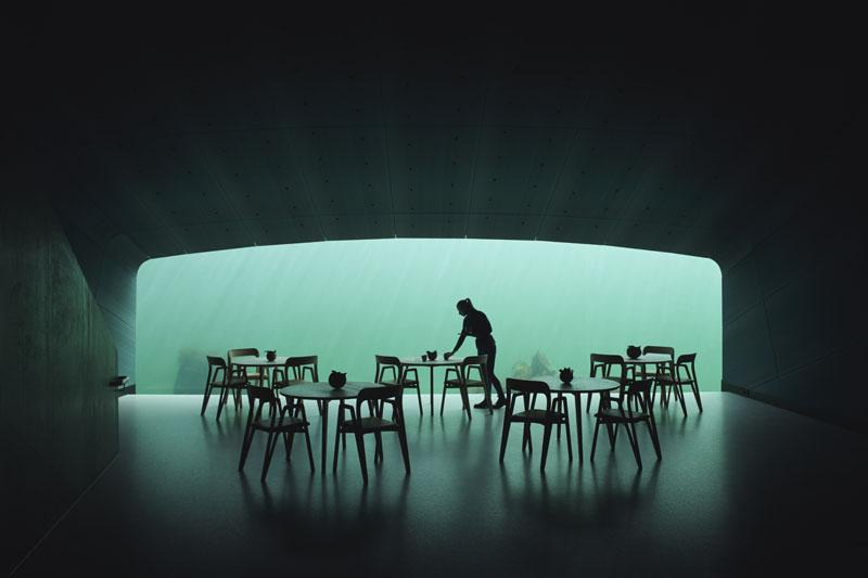 Under: El primer Restaurante submarino de Europa