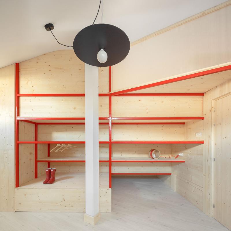Ruralattic de Liquenlav: vivienda de diseño abierto al uso