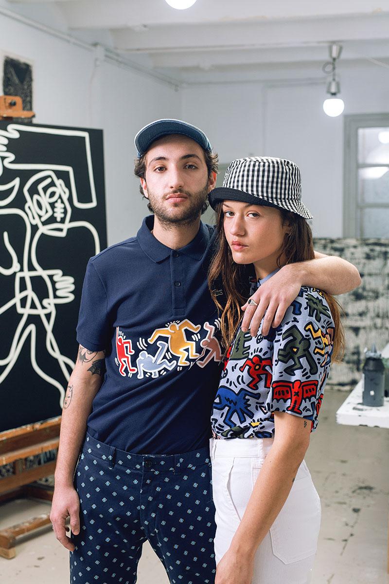 Homenaje al arte urbano: Lacoste x Keith Haring
