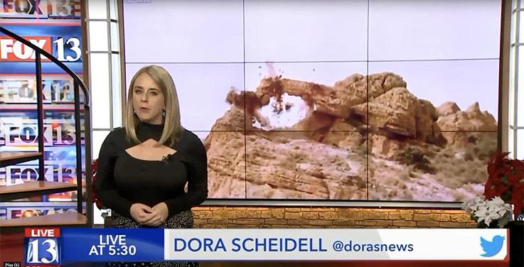 Bismarck y Charrière explotan monumentos naturales en Utah