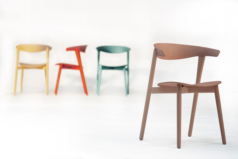 Silla Nix de Capdell ganadora del Red Dot Design Award