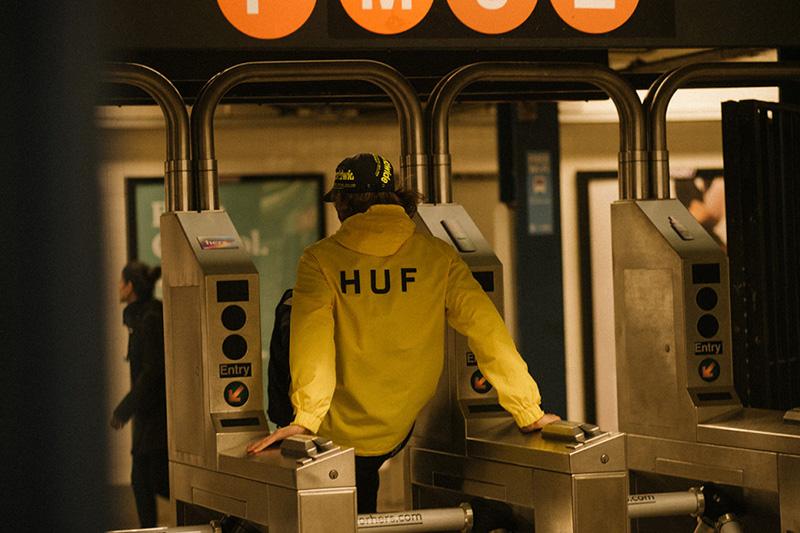 HUF SS19 nos transporta al Nueva York más icónico.