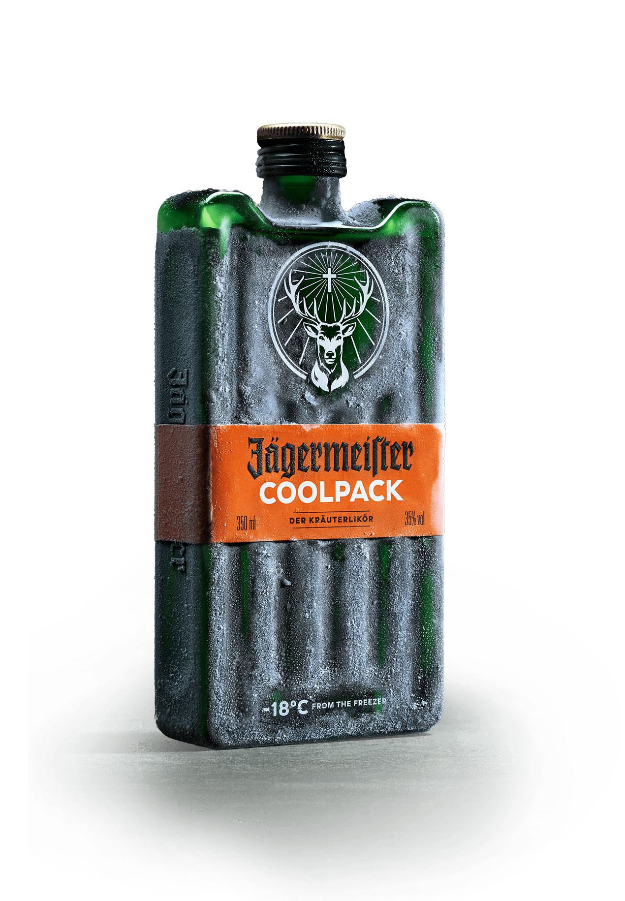 CoolPack, el nuevo invento de Jägermeister es Red Dot Award
