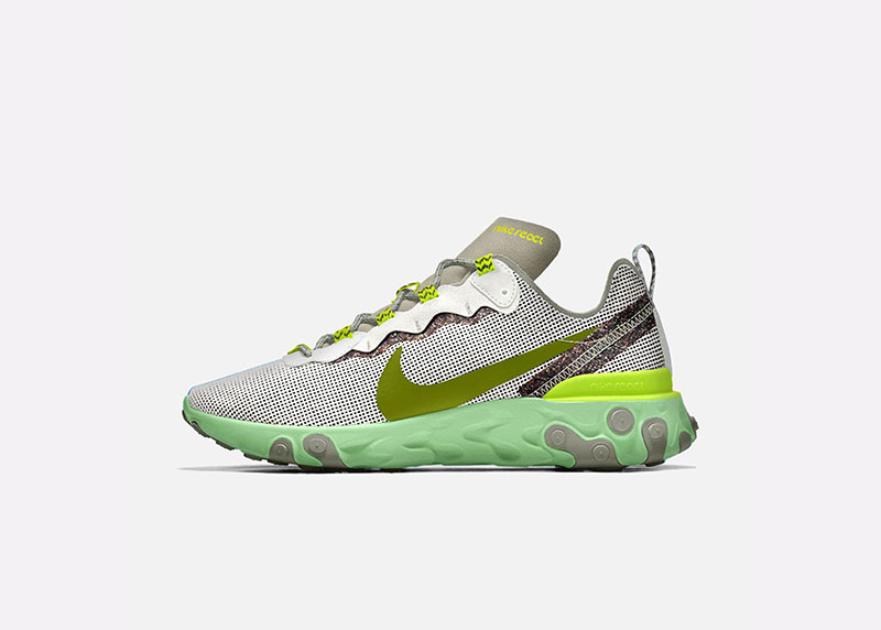 f2770778d Las zapatillas de estilistas  Nike React Element 55 by You