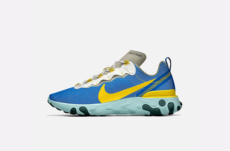 Las zapatillas de estilistas: Nike React Element 55 by You