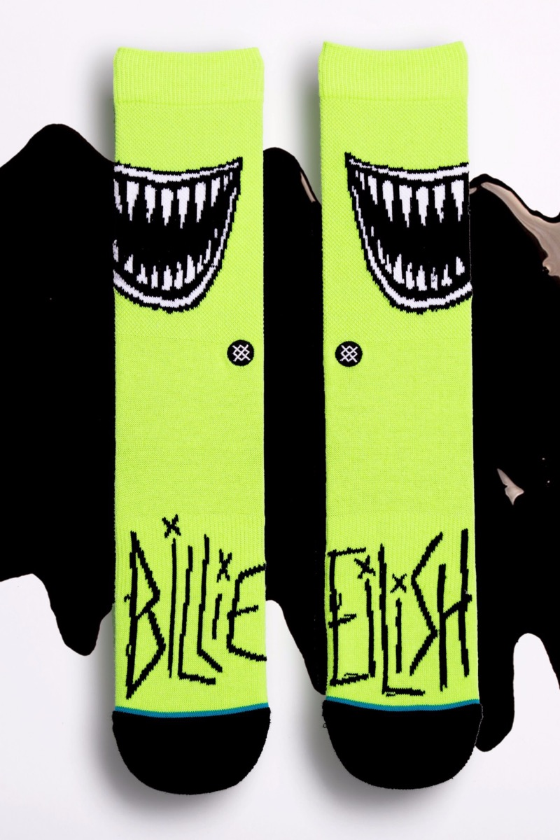 Billie Eilish x Stance: Calcetines dedicados a Babadook