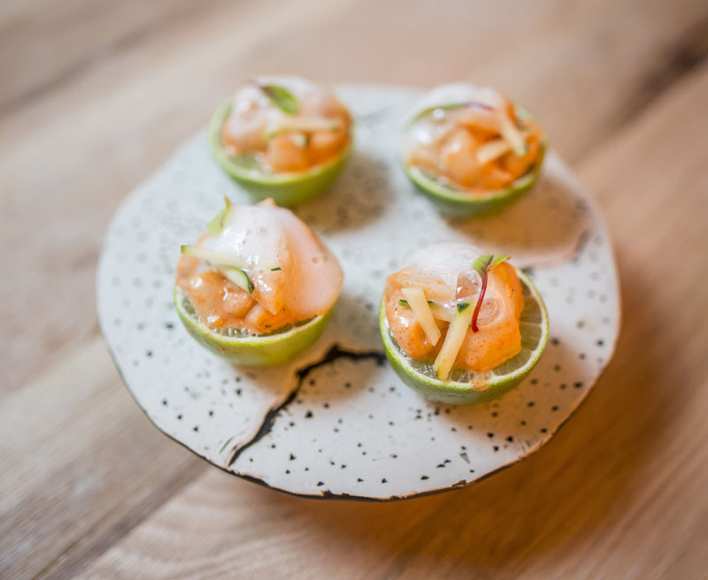 Bule Bule: Un dinner show con cocina internacional
