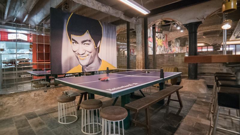 Clubhaus, arte, juego y comida en un solo lugar