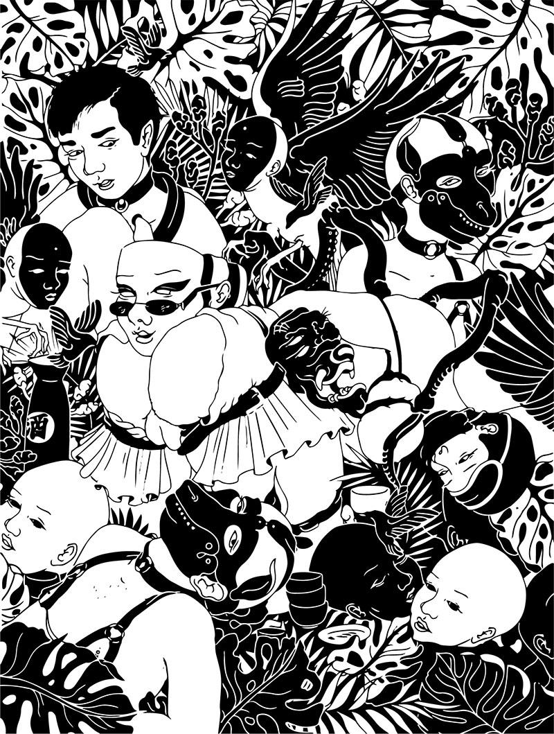 Furia, sexo e ilustración: Gairah Praskovia