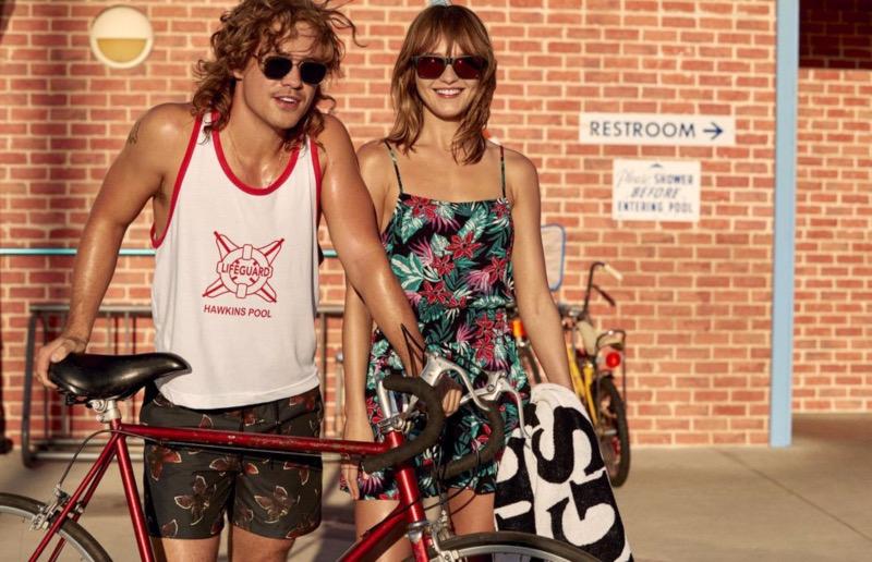 H&M viste a todos los fans de la serie Stranger Things