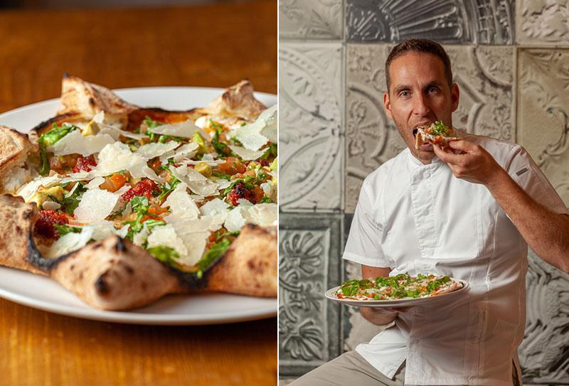 Mister O1: las pizzas sin complejos de un campeón italiano