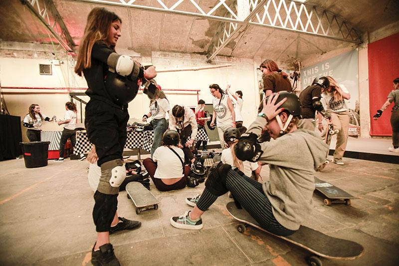 Vans Girls Skate Camp con Julia Benedetti