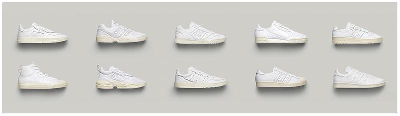 adidas zapatilla blanca