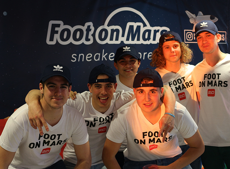 Viaje fin de curso al festival Nos Alive con Foot on Mars