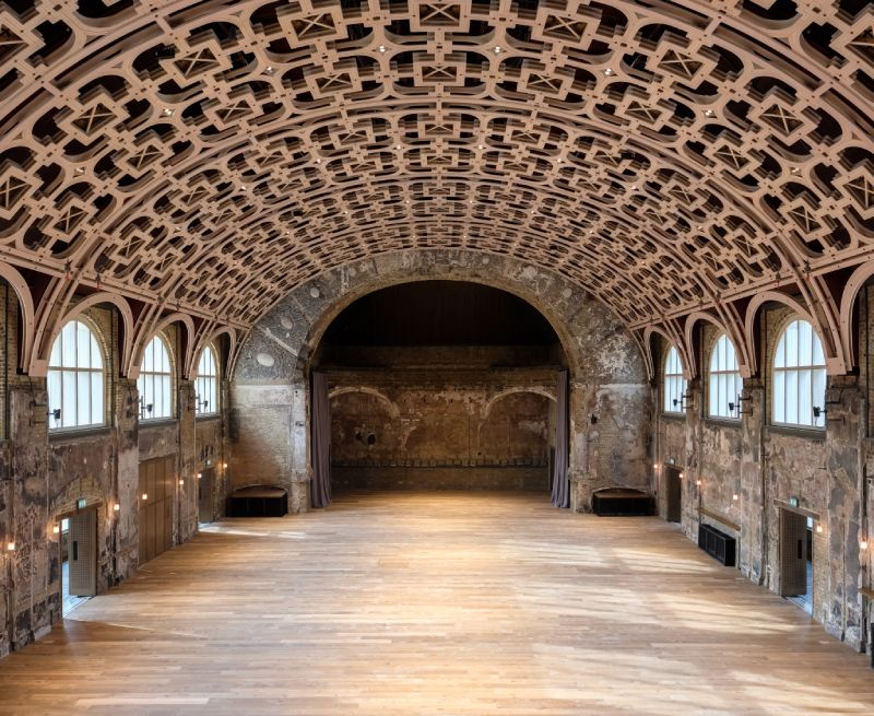 Rehabilitación de Battersea Art Centre por Haworth Tompkins