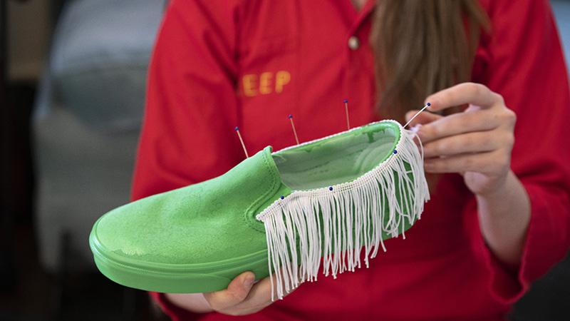 Zapatillas de colección: Vans customizadas por artistas