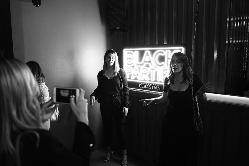 Neo2 by Sebastian Professional Black Parties: Valencia