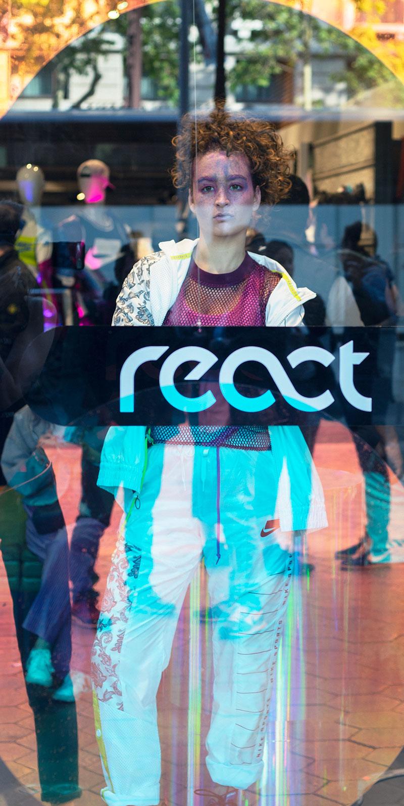 Nike React Element 55: Reacción Positiva