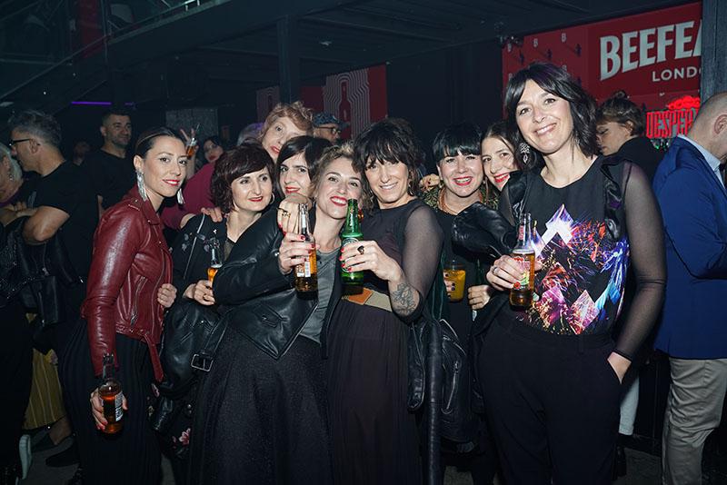 La Black Party tras el muro: Bilbao