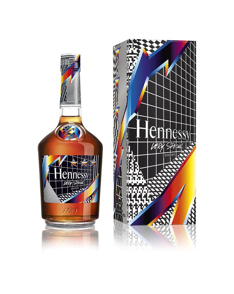 Felipe Pantone y Hennessy, socios en movimiento.