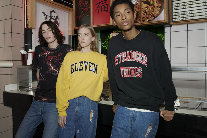 Levi's x Stranger Things, una colaboración sobrenatural